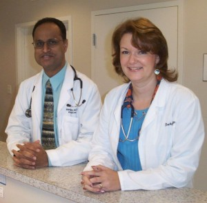 Dr. Reddy & ARNP Becky Womack
